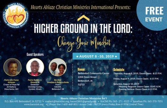 Hearts Ablaze Christian Ministries